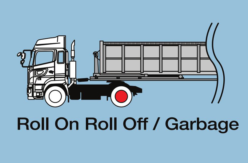 Roll On Roll Off / Garbage