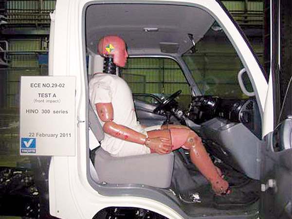 EGIS Cab (Emergency Guard Impact Safety)